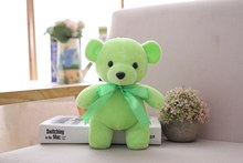 цена на Cute bear doll Teddy bear plush toy bear doll doll grab doll girl birthday gift Christmas