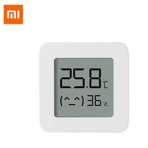 Image 2 - Xiaomi Mijia Smart Thermometer 2 Bluetooth Temperature Humidity Sensor LCD Digital Hygrometer Moisture Meter work with Mijia APP