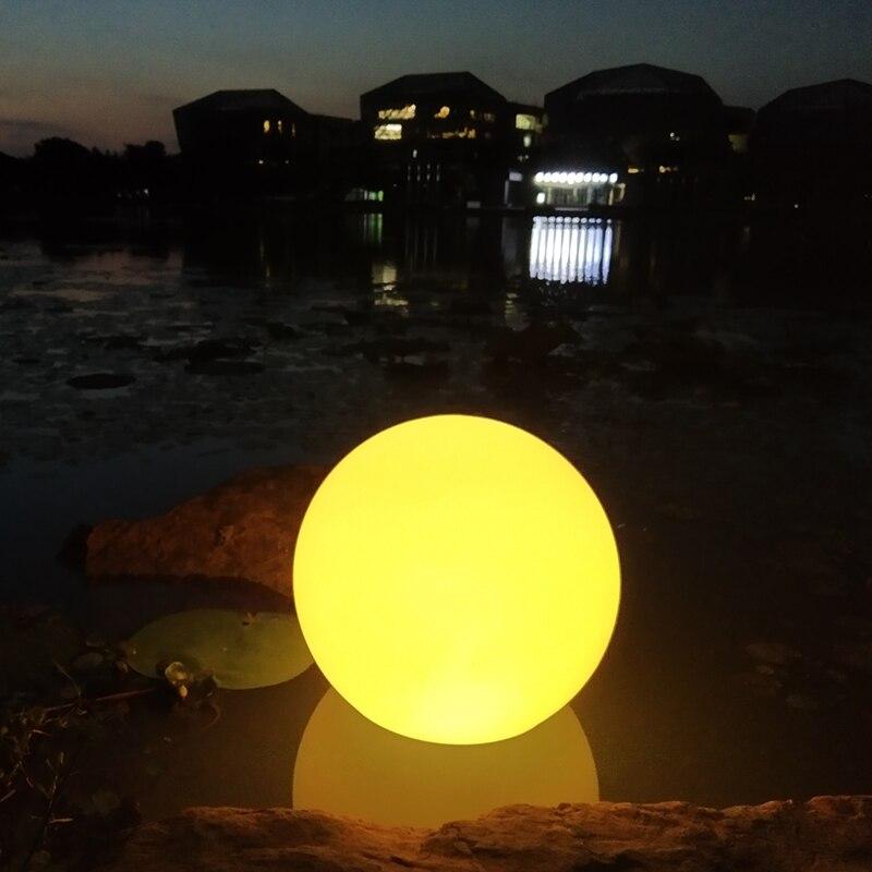 40cm solar piscina bola luz gramado ao