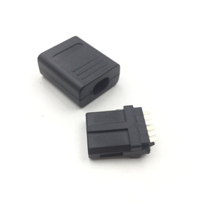 Image 2 - 2SETS  For NGC SNES N64  Connector Male Cable 12Pin Multi Out Connector/Plug AV Repair DIY For GameCube