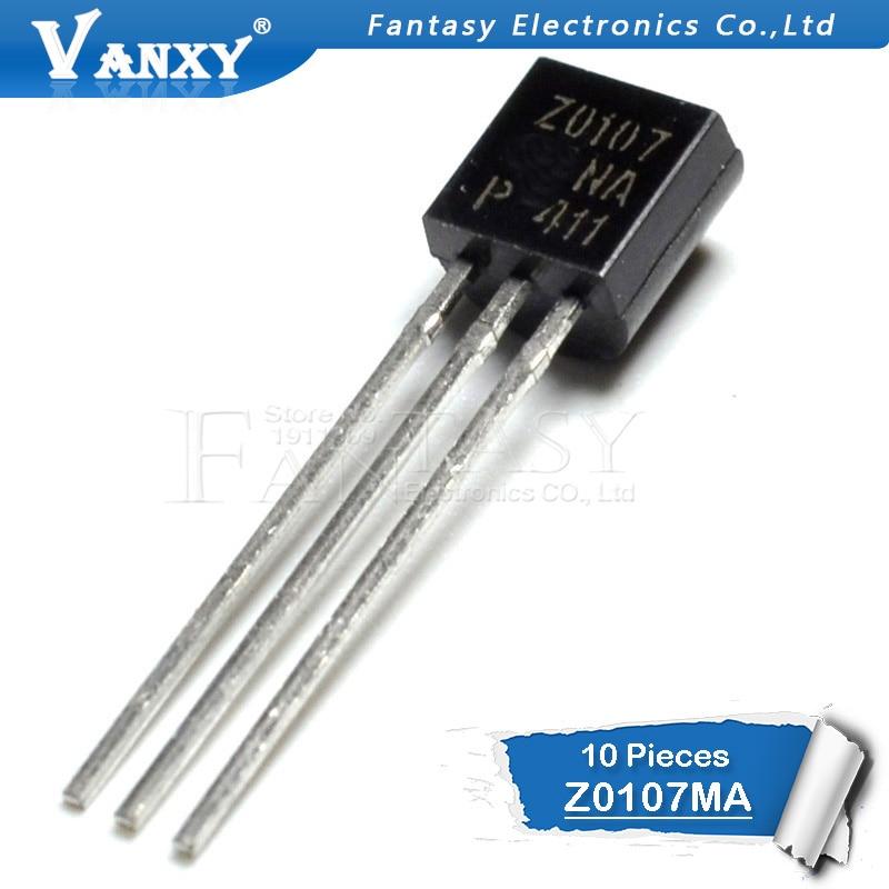 10pcs Z0107MA TO-92 Z0107M TO92 Z0107 Transistor New Original