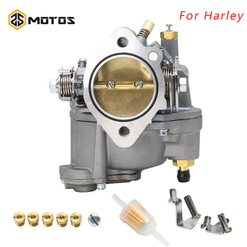 ZS MOTOS Motorcycle Replace Carburetor For Harley Big Twin Super e & Sportster S&S Shorty Carb 11-0420 For Harley Carburetor