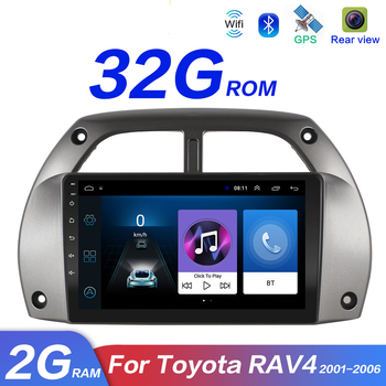For Toyota RAV4 Car Radio Multimedia Video Player Navigation GPS DVD MP5 Android 9.1 2DIN years 2001 2002 2003 2004 2005 2006 image