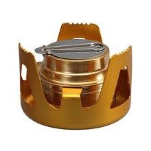 97 мм* 65 мм Наружная портативная мини-плита из нержавеющей стали для походов на открытом воздухе для кемпинга барбекю спиртовая кофейная плита