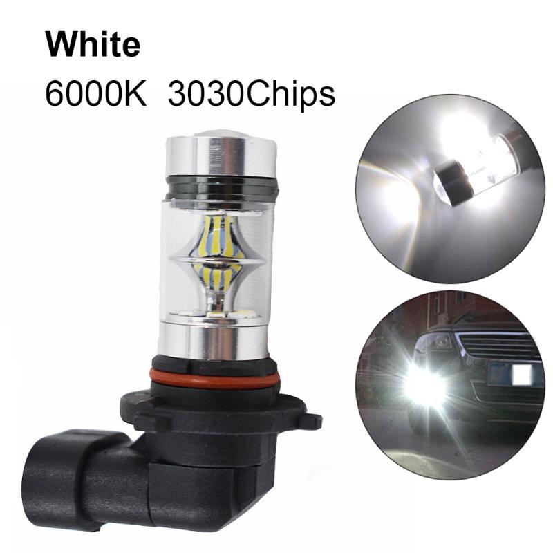 Супер Белые Противотуманные фары 1 шт. H10 H11 9005 9006 100 Вт 6000K 2323 Светодиодный лампа для вождения DRL дневные ходовые огни Автомобильные аксессуар...