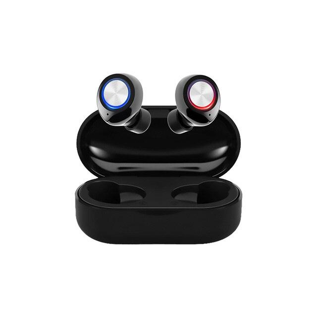 Tw60 tws bluetooth 5.0 fones de ouvido sem fio 3d estéreo alta fidelidade esportes à prova dwireless água sem fio fone com microfone 1