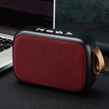 Smartphone Surround Home Stereo Sound FM Wireless Outdoor Rechargeable Mini Portable Bluetooth Speaker Loudspeaker Laptop Office