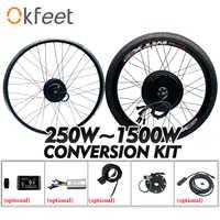 e Bike Conversion Kit 48V 1000W 1500W 36V 250W 500W Hub Motor MTX Wheel LCD Display Electric Bike Bicycle Conversion Kit