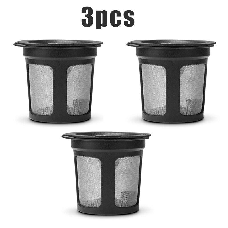 Reusable Refillable Coffee Filter For Keurig K Cup 2.0 K250 K400 K450 K500 Black
