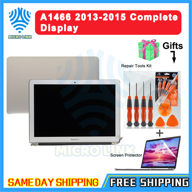 """ブランドの Macbook Air 13.3 """"A1466 LCD スクリーンディスプレイフルアセンブリ 2013 2014 2015 2017 年 MD760 MJVE2 MQD32"""