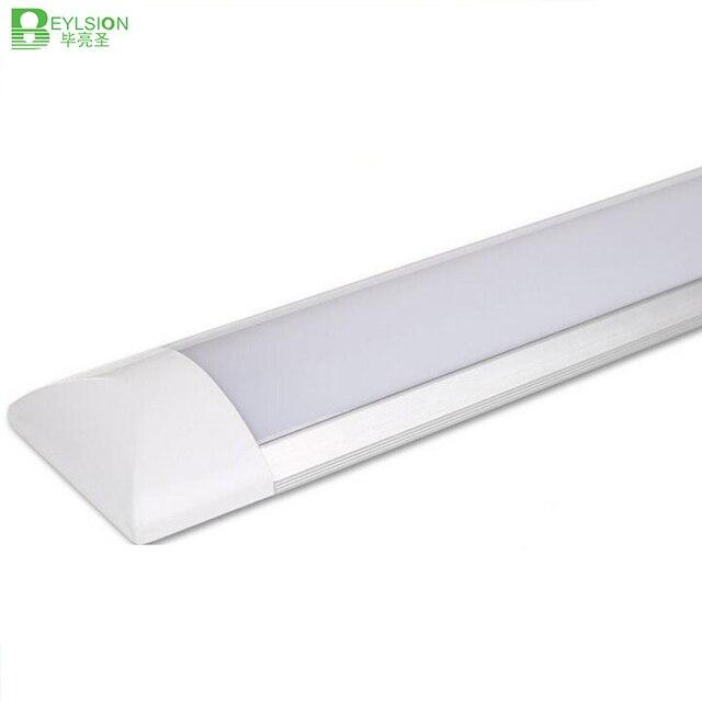 Tube déclairage intérieur, 10 pièces 5 pièces LED, 0.6, 0.9M 1.2M AC85 265V M LED, Purification, Bar anti poussière et anti brouillard