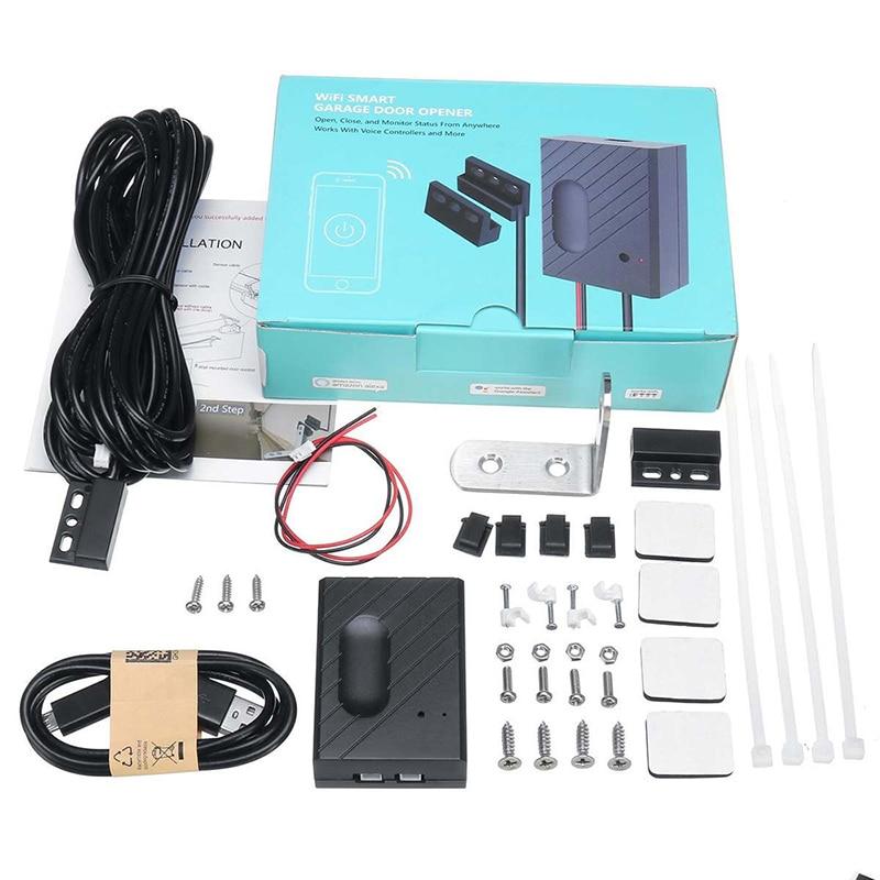 WiFi Switch Garage Door Controller for Car Garage Door Opener APP Remote Control Timing Voice Control for Alexa Google in Remote Controls from Consumer Electronics