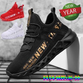 Dzieci buty dla dzieci chłopięce buty sportowe typu Sneakers dla dzieci buty do biegania buty sportowe Tenis Infantil letnie oddychające Chaussure Enfant dziecko trenerzy tanie i dobre opinie KAMUCC RUBBER Pasuje prawda na wymiar weź swój normalny rozmiar 10 t 11 t 12 t 13 t 14 t 14 T Mesh (air mesh) Lace-up
