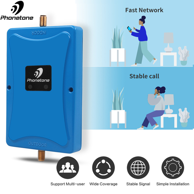 2019 NEW mobile phone Dual ALC 3G GSM Signal Repeater 900MHz UMTS 2100MHz 2G 3G Band 8/1 Dual Band Cell Phone Signal Booster #50