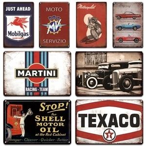 Motorcycles Poster Metal Sign Living Room Garage Decor Vintage Martini Tin Plate Signs Plaque Irish Pub Bar Man Cave Home Decor(China)