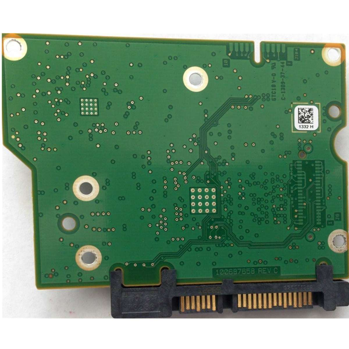 100687658 Logic Controller Board PCB Replacement Circuit Board Practical Durable HDD Accessories Printed For <font><b>ST2000DM001</b></font> image
