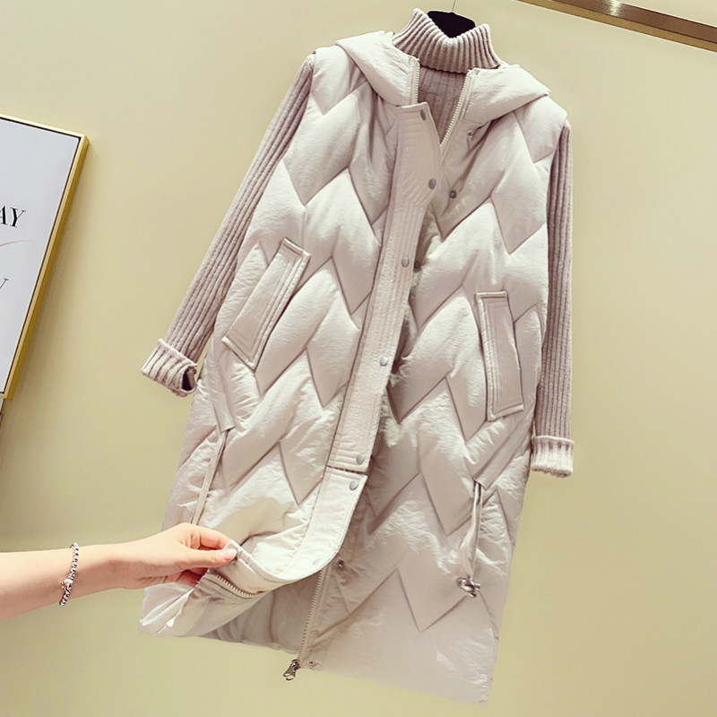 Cheap Wholesale 2019 New Autumn Winter  Hot Selling Women's Fashion Casual Female Nice Warm Vest Outerwear MP624