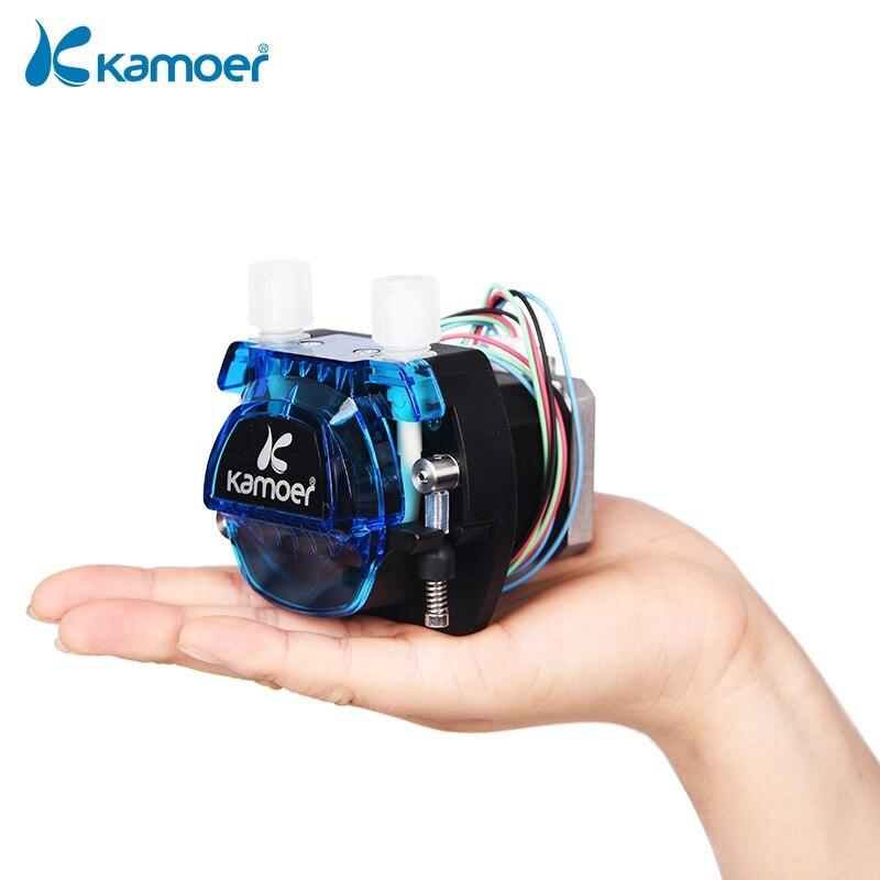 Kamoer KCM 12В/24В мини перистальтический водяной насос с шаговым двигателем и BPT/силиконовой Трубкой