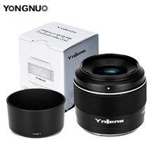 Foco automático padrão da lente principal do af mf 50mm f1.8 da grande abertura f1.8 de yongnuo yn50mm f1.8s da dsm para a câmera APS-C da e-montagem de sony