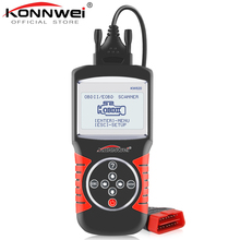 KONNWEI KW820 Automotive Scanner Multi languages OBDII EOBD Diagnostic Tool Car Errors Code Reader Diagnostic Scanner in Spanish