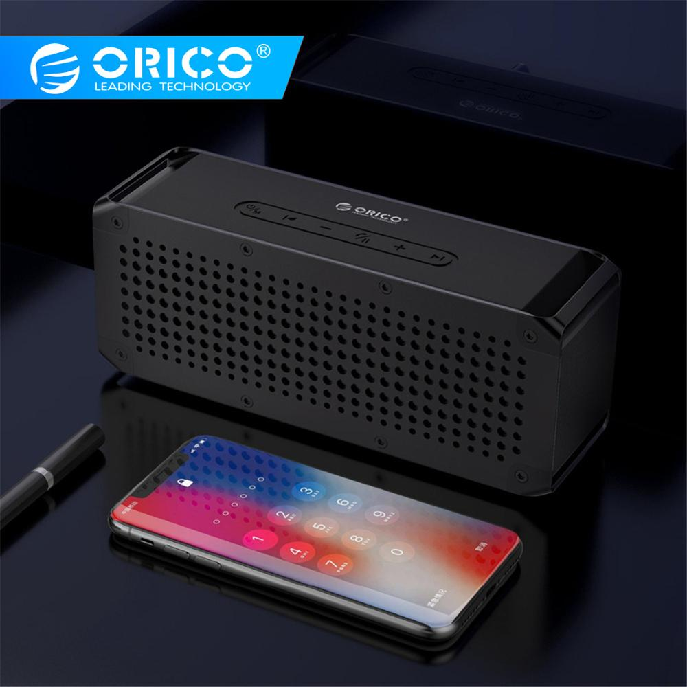 ORICO Portable Wireless 4.2+EDR Bluetooth Speaker Three proofing Outdoor Music Surround Support TF AUX Card For Music Player    1