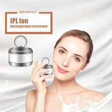 Facial beauty high-frequency vibration ion color changing light MINI photon import thin face wrinkle skin care facial massager