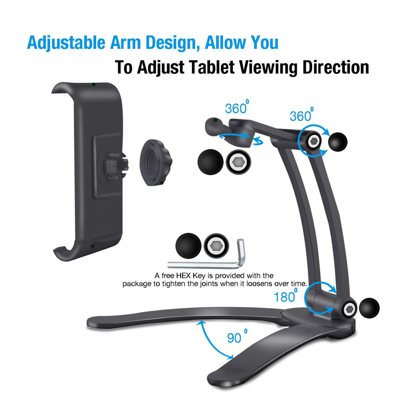 2-in-1 Kitchen Tablet Stand