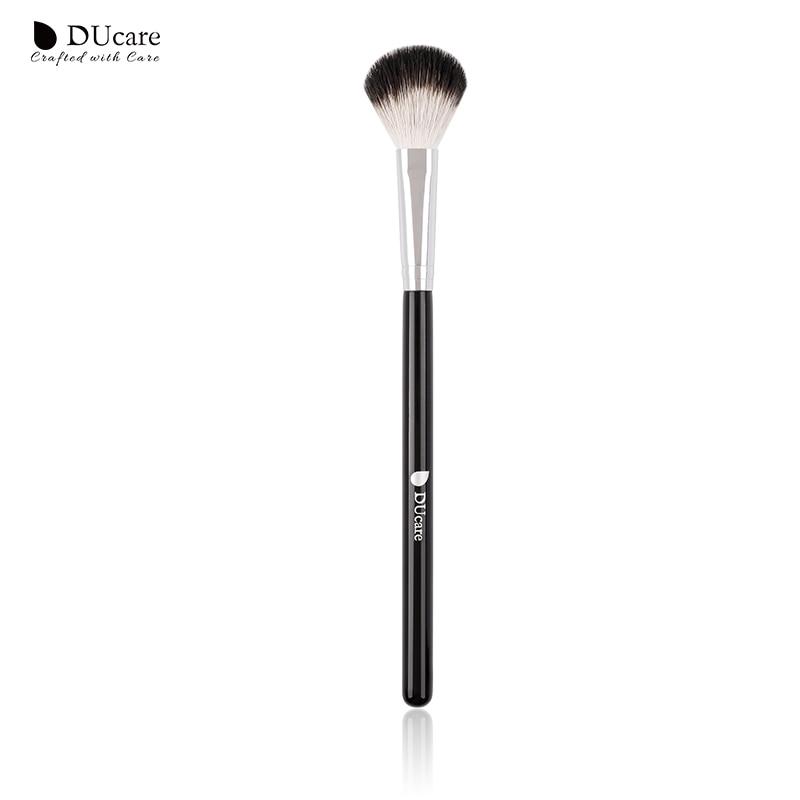 DUcare Makeup Brushes Goat Hair Highlighter Brush Cosmetic Powder Blending Makeup Brushes Eyebrow Eyeshadow Brush Makeup Tools