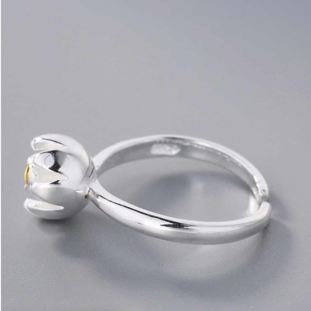 חדש תכשיטים זהב פרח טבעת מתנה מתכוונן פתיחה לנשים גבירותיי חוף זול תכשיטי מתנה