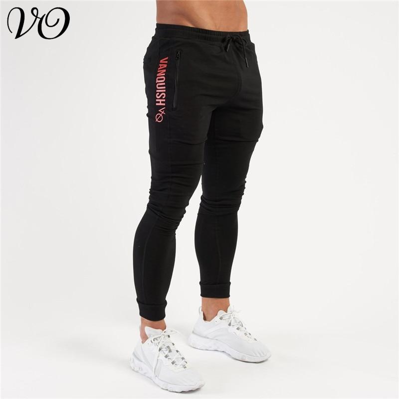 Jogger Streetwear Fall Fashion Men's Clothing Cotton Workwear Casual Pants Fitness Workout Sweatpants Foot Pants