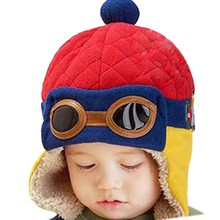 2020 Baby Hats Boys Girls Hat Winter Cartoon Warm Ear Cap Child Protect Ears for Newborn 6 Months to 4 Years Baby Cute Cap 2019 winter baby hats cartoon cotton sweet baby hat for girls boys newborn baby little yellow duck cap girls baby accessories