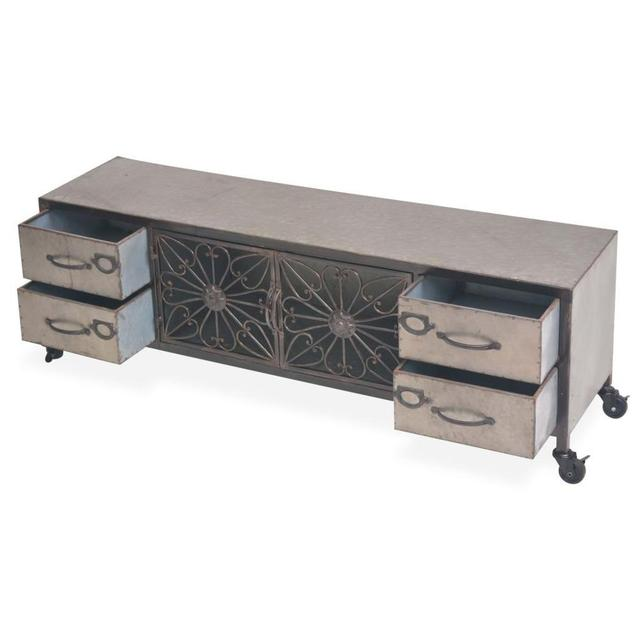 Modern LED TV Stand Cabinet  4