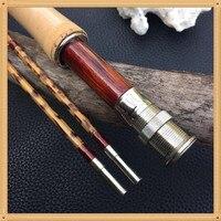 "Super rare ZHUSRODS leopard print bamboo fishing rod 6'9"" 4wt Fishing Rods     -"