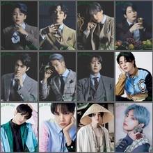 Diy broca completa 5d kpop pintura diamante ídolo coreano menino mosaico ponto cruz kit alma mapa arte cartaz decoração