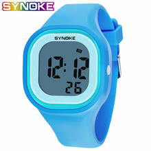 SYNOKE 2019 New Arrival Colorful Fashion Kids Children Girl Boy Watches