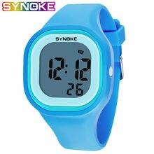 Новое поступление красочные модные детские наручные часы synoke