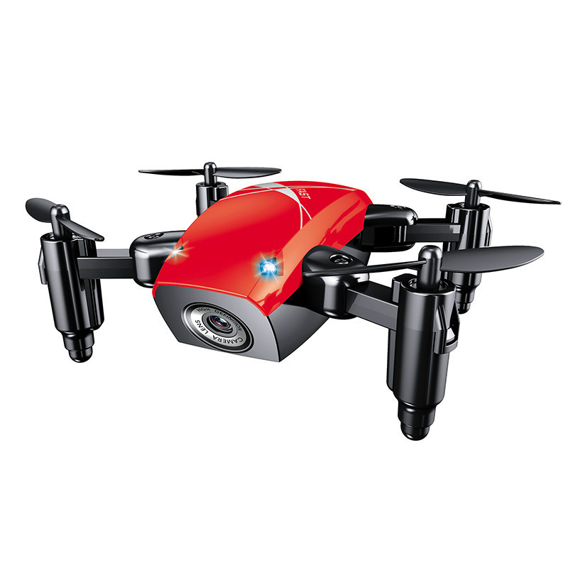 Cross Border For Mini Quadcopter Set High WiFi Real-Time Aerial Photography Remote Control Toy Mini Folding Unmanned Aerial Vehi
