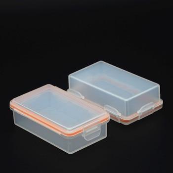 MasterFire 500pcs/lot Mini Portable Hard Plastic 2 Cell 18650 Batteries Waterproof Storage Case 18650 Battery Holder Box Cover