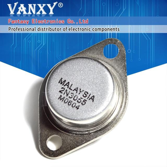 5PCS Transistor 2N3055 TO 3 15A 60V NPN AF Amp Audio Power  new and original IC