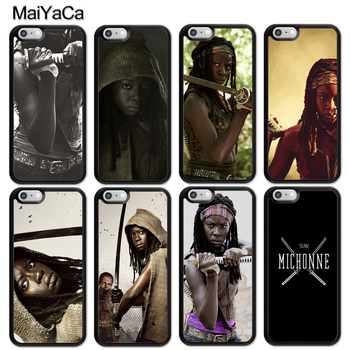 MaiYaCa The Walking Dead Michonne Style Case For iphone 12 mini 11 Pro MAX X XR XS MAX SE 2020 6S 7 8 Plus 5S Cover image