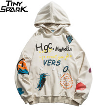 Năm 2020 nam Hip Hop Áo Hoodie Áo Dạo Phố Bông Tai Kẹp Đồ Bộ Áo Hoodie Chui Đầu Mặt HipHop Rời Áo Hoodie Ván Trượt Mùa Thu