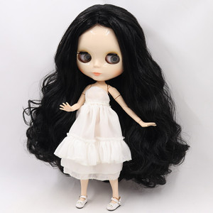 Image 5 - ICY Blyth Doll Nude 1/6 Joint Body 30CM BJD toys white shiny face with extra hands AB and faceplate DIY Fashion Dolls girl gift