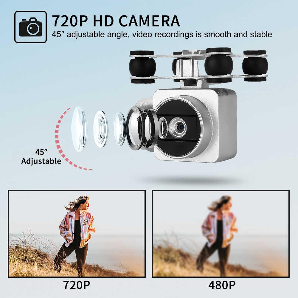 20 分フライング fpv ドローン、 jjrc H68 rc ドローン 720 1080p hd カメラ wifi ビデオヘッドレスモードと高度ホールド quadcopter