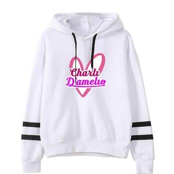 charli damelio merch Sweatshirt Men/Women Print Ice Coffee Splatter Hoodies Fashion Hip Hop hoodie Pullovers Tracksuit Clothes 4