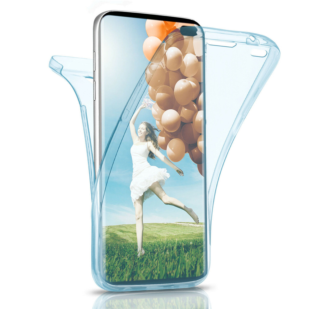 <font><b>360</b></font> Double Soft Slicone <font><b>Case</b></font> for <font><b>Samsung</b></font> Galaxy S6 s6edge s6e s7 s7edge s8 s8plus s9 s9plus note8 <font><b>note9</b></font> image