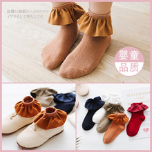 All-match Autumn Flannelette Will Lace Socks Children Girl Cotton Princess