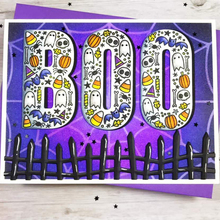 BOO Clear Stamps+Metal Cutting Dies Halloween Ornaments For DIY Scrapbooking Card Making New 2019