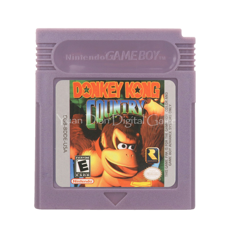For Nintendo GBC Video Game Cartridge Console Card Donke Kong Country English Language Version