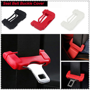Car Seat safe Belt Buckle rubber Cover For BMW E34 F10 F20 E92 E38 E91 E53 E70 X5 M M3 E46 E39 E38 E90 M140i 530i 128i image