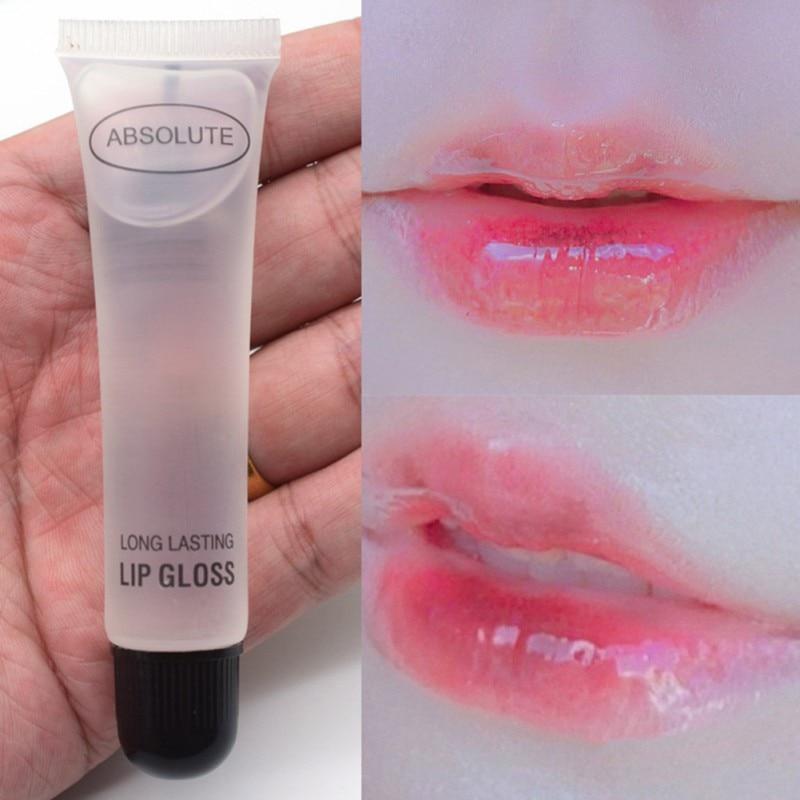 Colorless Lip Gloss Moisturizing Anti-Drying Nourishing Lip Oil Long-lasting Smooth Fine Lines Brighten Skin Color